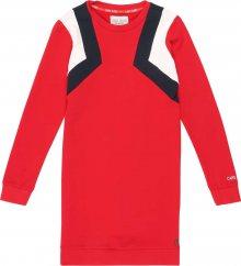 Cars Jeans Šaty \'KIDS RIVKA DRESS\' modrá / červená