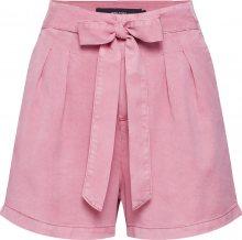 VERO MODA Kalhoty se sklady v pase \'Vmmia\' pink