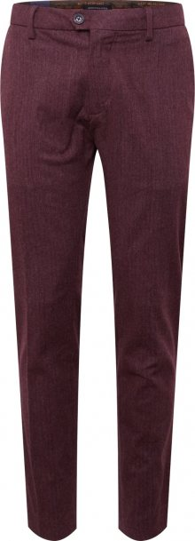 SCOTCH & SODA Chino kalhoty \'STUART\' bordó