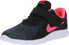 NIKE Sportovní boty \'Revolution 4\' pink / černá / bílá