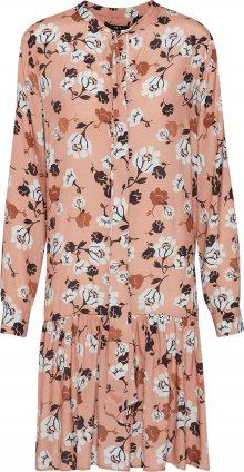 SET Koktejlové šaty růžová