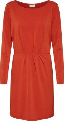 VILA Šaty \'CLASSY\' rezavě červená