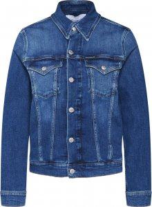 Calvin Klein Jeans Přechodná bunda \'FOUNDATION TRUCKER\' modrá