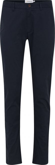 FARAH Chino kalhoty \'ELM\' námořnická modř
