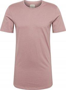 JACK & JONES Tričko pastelová fialová