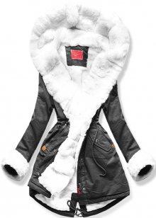 MODOVO Dámska zimní bunda 7353 grafitová