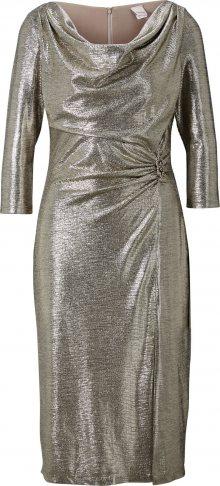 heine Koktejlové šaty zlatá