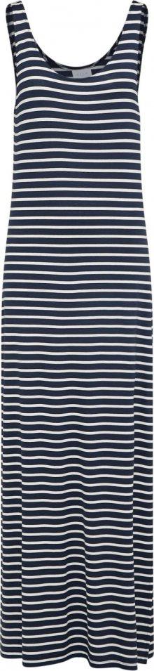 VILA Letní šaty \'Deana\' modrá / bílá