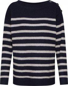ESPRIT Svetr námořnická modř / bílá