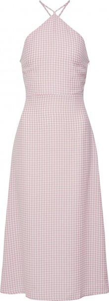 Fashion Union Šaty \'BAYBEE\' růžová / bílá
