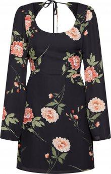 Fashion Union Šaty \'ANGELIQUE\' mix barev / černá