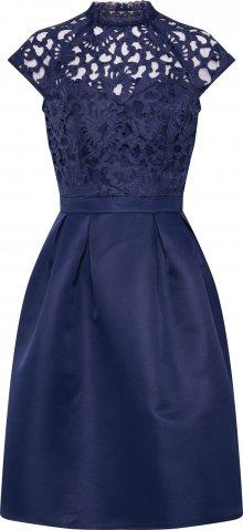 Chi Chi London Koktejlové šaty \'TULA\' námořnická modř