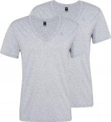 G-Star RAW Tričko šedá