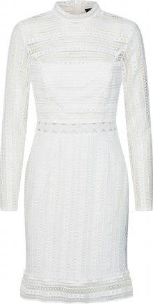 Bardot Koktejlové šaty bílá