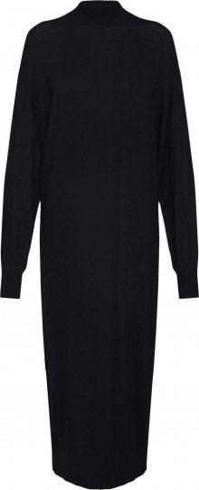 EDITED Úpletové šaty \'Idoia\' černá