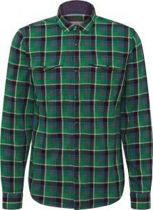 Q/S Designed By Košile modrá / zelená / černá / bílá