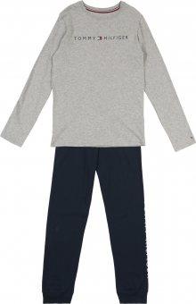 Tommy Hilfiger Underwear Pyžamo námořnická modř / šedá / červená / bílá