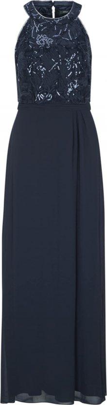 s.Oliver BLACK LABEL Společenské šaty noční modrá