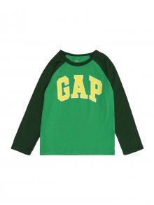 GAP Tričko žlutá / zelená / tmavě zelená / bílá