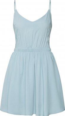 Review Letní šaty světlemodrá