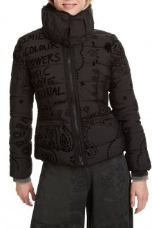 Desigual černá bunda Padded Sunna - 36