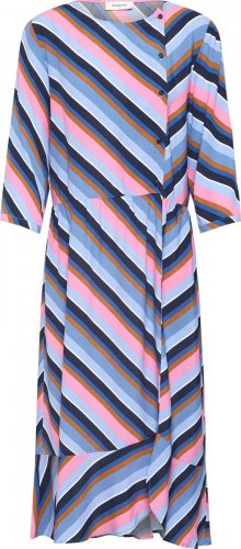 Modström Šaty \'Rylan\' modrá / růžová