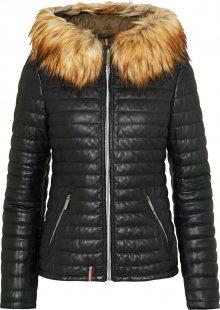 OAKWOOD Zimní bunda černá