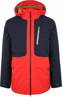 JACK WOLFSKIN Sportovní bunda \'365 millenial\' tmavě modrá / červená
