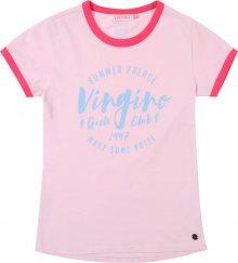 VINGINO Tričko \'Igonne\' kouřově modrá / růžová