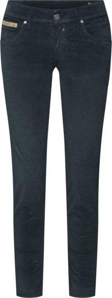 Herrlicher Kalhoty \'Touch Cropped Velvet Stretch\' zelená