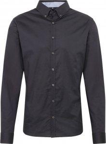 BRAX Košile \'Daniel\' černá