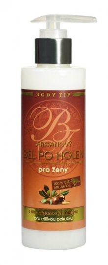Vivaco Gel po holení pro ženy s BIO arganovým olejem BODY TIP 200 ml
