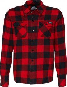 DICKIES Košile \'Sacramento\' červená / černá