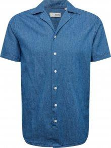 !Solid Košile modrá