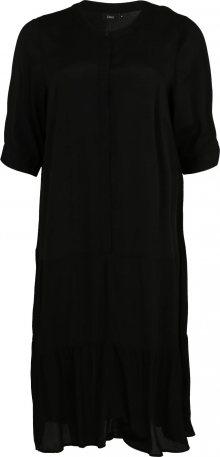 Zizzi Košilové šaty \'DASY\' černá