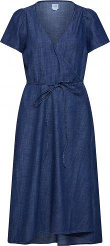 GAP Šaty modrá džínovina