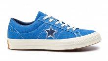 Converse One Star OX Blue modré 164359C