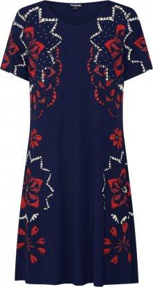 Desigual Šaty \'VEST_ANNA\' tmavě modrá / mix barev