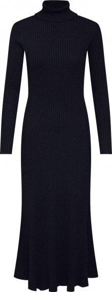 EDITED Úpletové šaty \'Syrina\' černá