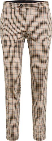 JACK & JONES Kalhoty s puky \'CALI SID TROUSER TC319\' hnědá / černá