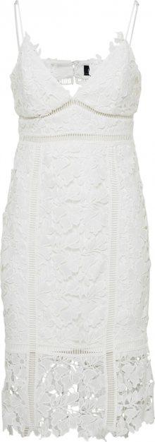 Bardot Koktejlové šaty \'Botanica\' bílá