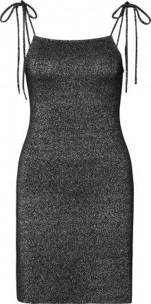 EDITED Šaty \'Gloria\' stříbrná