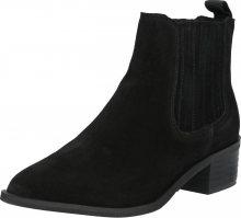 SELECTED FEMME Chelsea boty černá