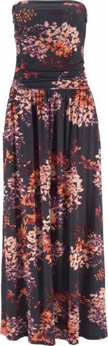 LASCANA Plážové šaty černá / mix barev