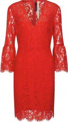 Marc Cain Koktejlové šaty červená