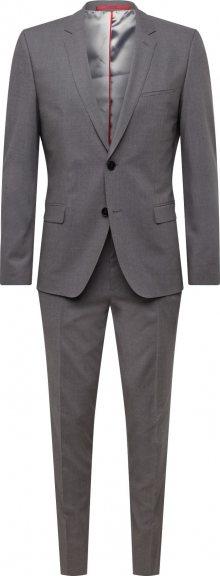 HUGO Oblek šedá
