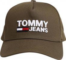 Tommy Jeans Kšiltovka khaki