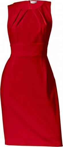 Heine Pouzdrové šaty červená