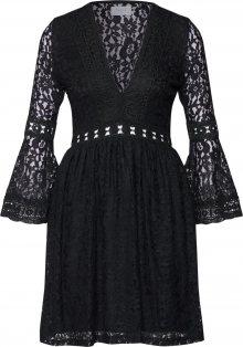 Carolina Cavour Šaty černá