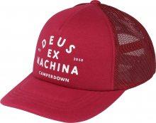 DEUS EX MACHINA Kšiltovka \'Austin Camperdown Trucker\' červená
